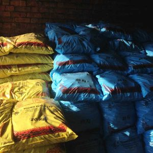 Bags of Coal at J Young Fuels Ltd in Gloucestershire
